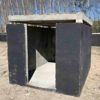 Prefabrikovaná betónová pivnica pre záhradu